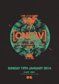 Conclave feat. Cesare vs. Disorder | Cafe 1001 | London | https://beatguide.me/london/event/cafe-1001-conclave-with-cesare-vs-disorder-20140119