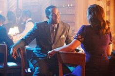 """Hayley Atwell and James D'Arcy in """"Agent Carter"""" Season 2"""