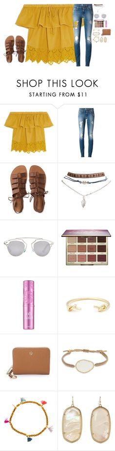 """shopping&dinner&movies with friends!"" by jazmintorres1 ❤ liked on Polyvore featuring Madewell, Aéropostale, Wet Seal, Christian Dior, tarte, Benefit, Sole Society, Tory Burch, Tai and Shashi"