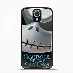 Nightmare Before Christmas Design for Samsung Galaxy and Iphone Case (Samsung S4 black)