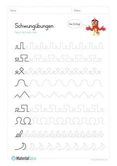 Deutsch Lernen Vorschule – Rebel Without Applause Tracing Worksheets, Preschool Worksheets, Preschool Activities, Teaching Kids, Kids Learning, Early Intervention Program, Kindergarten Portfolio, Autistic Children, Pre Writing