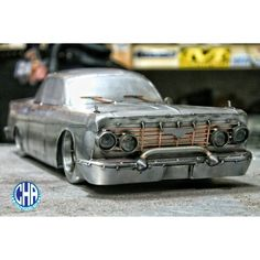 1961 chevrolet  impala  bubbletop  cold hard art welding metal art