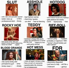 Wise Up, The Rocky Horror Picture Show, Bad Fashion, Kinds Of People, Professional Makeup, Jealous, Punk, Memes, Random Stuff