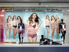 In store window retail graphics of Primark Lingerie 2014 Lingerie Store Design, Primark, Retail Design, Mix Match, Visual Merchandising, Shop Windows, Window Displays, Photography, Display Ideas