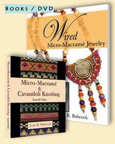 Books and DVD  Micro Macrame Jewelry.com