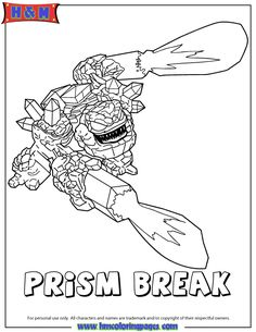 FRIGHTRIDER Coloring Page