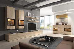 Obývacie steny - lacné obývacie steny - obývačkové steny