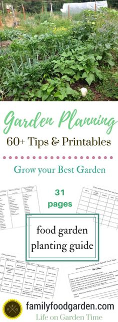 Garden Planning: 60+ Tips to Grow your Best Garden ~ Family Food Garden