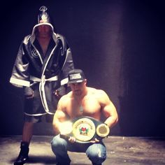 Fitness boxing rapper Fighter Permanentdamage