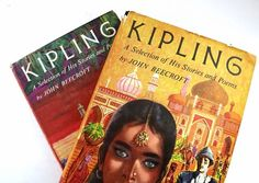 Kipling Vintage Books / Book Decor livre Bundle / Home Decor /