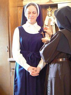 Discalced Carmelite Nuns of Loretto Carmel   Entrance Ceremony