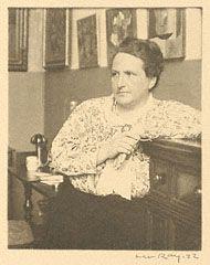 Gertrude Stein (Getty Museum)