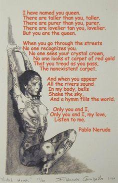 The Queen - Pablo Neruda
