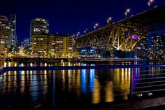 Granville Bridge Vancouver BC--want to go back to Vancouver. It is a pretty city.