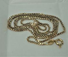 Gold Box, Box Chain, Edinburgh, 21st, Yellow, Bracelets, Shop, Ebay, Jewelry