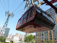 Survoler New York avec le Roosevelt Island Tramway (compris dans la metrocard)