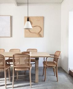 monotone dining room