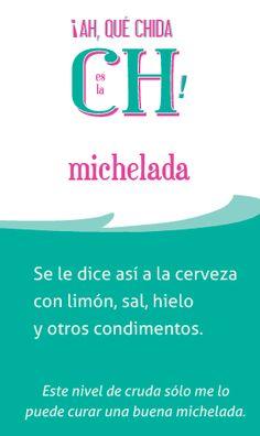 «michelada», la palabra de hoy en @elchingonario >