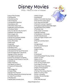 List of Disney Films - The Aristocats, Robin Hood, The Apple Dumpling Gang, The Rescuers, Return to Disney Original Movies, Disney Movies To Watch, Disney Films List Of, List Of Disney Princesses, Classic Disney Movies, Best Disney Movies, Family Movie Night, Family Movies, Netflix Movies To Watch