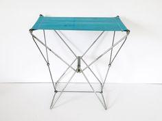 Français de pliage chaise camping chaise d'appoint en métal