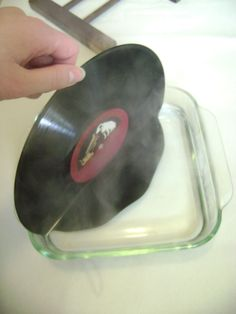 Vinyl bookends, just add hot water! Best Place to buy Vinyl Records Online : http://records-plus.com