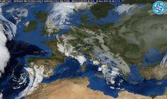 Meteo 27 Novembre 2014: nuvolosità persiste sull'Italia. causata da fenomeni atlantici. Temperature massime in calo   The Horsemoon Post