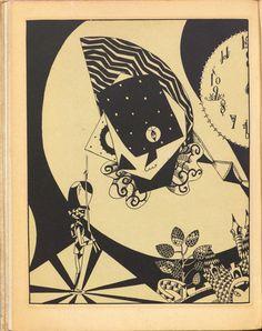 "Hatsuyama Shigeru, illustration for ""The Steadfast Tin Soldier"""