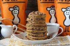 Pumpkin Crumb Pancakes |