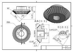 99477326 Mechanical Engineering Drawing Book Pdf Luxury Chris Kordecki Chriskordecki in 2020 Mechanical Engineering Design, Mechanical Design, Autocad Isometric Drawing, Gear Drawing, Drawing Book Pdf, Solidworks Tutorial, Bevel Gear, Interesting Drawings, Blueprint Art