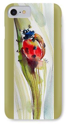 Ladybird Phone Case by Kovacs Anna Brigitta