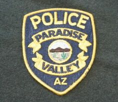 Police Badges, Police Uniforms, Arizona Law, Law Enforcement Officer, Police Patches, Paradise Valley, Porsche Logo, Vehicles, Car