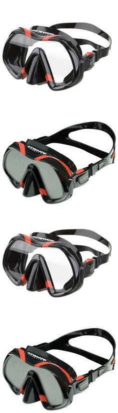 Masks 71161: Atomic Aquatics Venom Dive Mask For Freediving Scuba Snorkeling Black/Red BUY IT NOW ONLY: $199.95 Scuba Diving Mask, Best Scuba Diving, Spearfishing Gear, Scuba Gear, Venom, Snorkeling, Islands, Boats, Diving