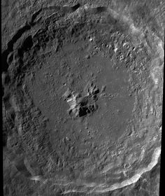 Lunar Reconnaissance Orbiter takes this photo of the crater Tycho on the moon. lro_tycho