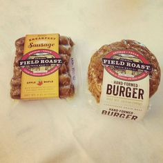 field roast veggie burgers