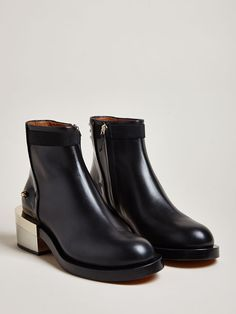 Givenchy Women's Spazzolato Gold Metal Boots