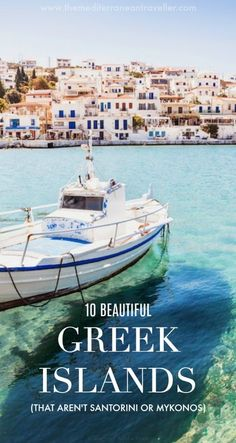 Whilst Santorini and Mykonos are deservedly popular, they're by no means the only stunningly beautiful Greek islands. So if you're looking for a little extra inspiration for your summer plans, here are 10 islands which will make your heart skip a beat with their achingly lovely landscapes, beaches and towns. From lush Corfu to historic Rhodes, unique Milos to secluded Folegandros. The hard part is deciding which one to visit. #greece #greekislands #islands #travel #europe