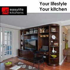Easylife Kitchens George is all about creating not only kitchen cupboards, but also units for every room in the home. Use that empty space by creating storage space for all those unsightly things that seem to never find a place of their own.