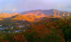 """""""Overlooking Gatlinburg"""" by Thomas Sneed. Photo submitted for our photo contest on Facebook! Go vote now for your favorite!"""
