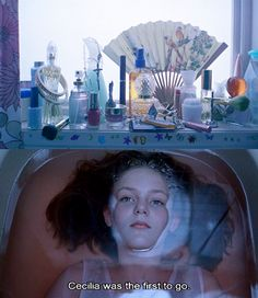 Cecilia eas the first to go. Virgin Suicides