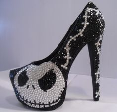 THE NIGHTMARE BEFORE CHRISTMAS! im not a huge fan of heels.....but I would totally wear these!