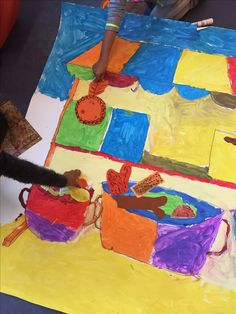 Groepsopdracht groep 3 thema gezonde school/ markt/ voeding