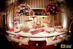 aaah essa mesa de doces é TUDO
