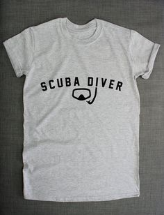Scuba Diving Dive T-Shirt by ResilienceStreetwear on Etsy