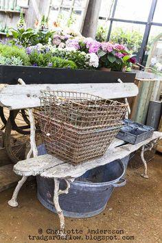 Trädgårdsflow Wire Baskets, Outdoor Furniture, Outdoor Decor, Hammock, Home And Garden, Nursery, Greenhouses, Home Decor, Green Houses