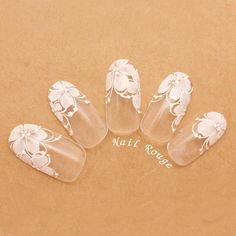 Pin on french nails fancy Pin on french nails fancy Lace Nail Art, Flower Nail Art, Diy Nail Designs, Simple Nail Art Designs, Beach Holiday Nails, Almond Nails Designs Summer, Space Nails, Bridal Nail Art, Pretty Nail Art