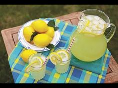 Limonata NASIL YAPILIR? -homemade  - cold drink