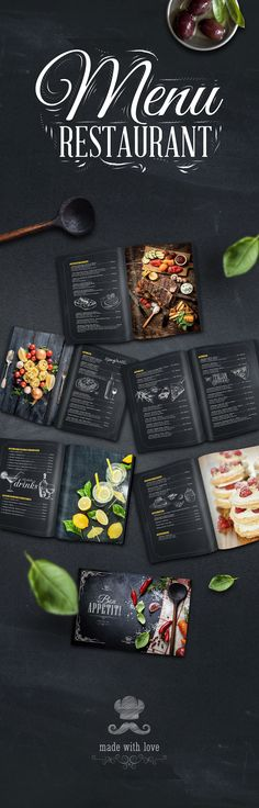 Menu design for Hotel Opera House..