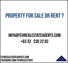 fehrealestateagents.com Cebu, Property For Sale, Philippines, Cebu City, Men's Fitness Tips