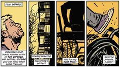 Optimism underneath it all. | Community Post: 24 Reasons Why You Should Be Reading Matt Fraction's Hawkeye