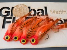 The flies I tied - I tied these all weekend. I managed to make more than these, but also managed to give some away.